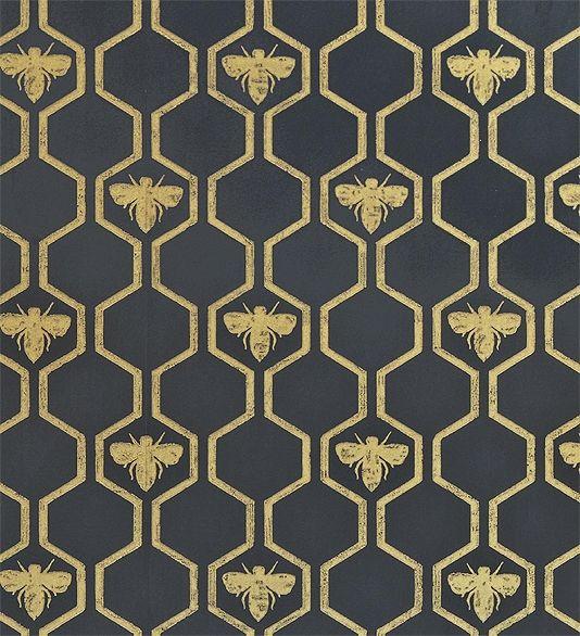 Honey Bees Wallpaper Bee Design Bee Wallpaper