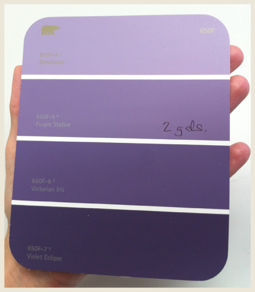 Rooms Painted With Behr Caribe Google Search: Behr Purple - Google Search