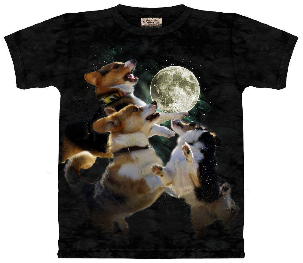 738f27ff Three Corgi Moon shirt r/photoshopbattles gnostic_cat | Corgi Love ...