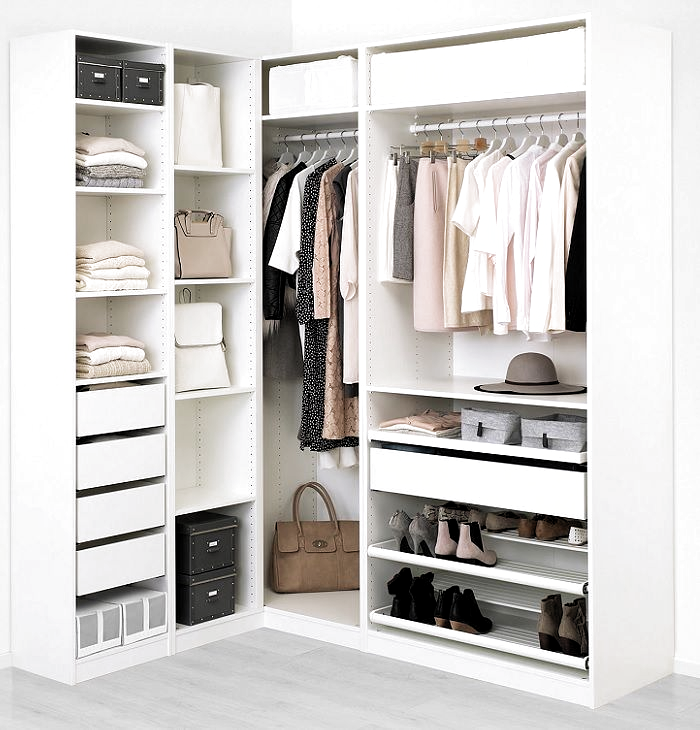 armario esquinero ikea pax in 2020 | Corner wardrobe