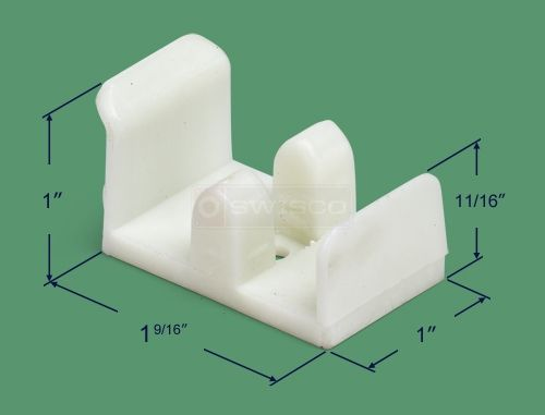 swisco sterling sliding shower door guide plastic bottom guide for a sliding