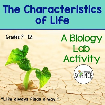 biology characteristics of life Lc biology notes/revision qs unit 1: study of life  life nutrition: way in which living organisms obtain and use food • all our energy ultimately comes from the sun • plants create glucose from carbon dioxide and water using the energy in sunlight - photosynthesis • herbivores eat the plants and the.