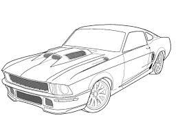 Wedding Car Coloring Page