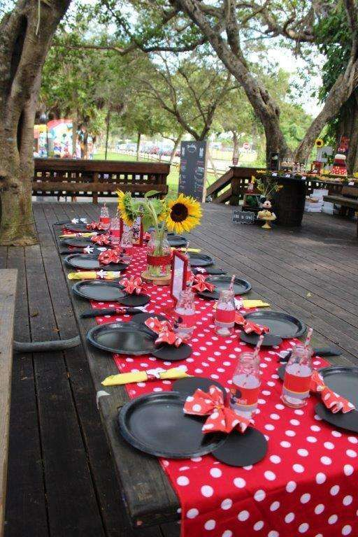 Mickey Mouse / Minnie Mouse Birthday Party Ideas | Photo 63 ...