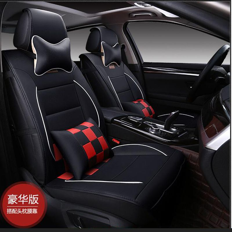 Excellent Luxury Leather Pu Leather Car Seat Covers Seat Cover For Machost Co Dining Chair Design Ideas Machostcouk