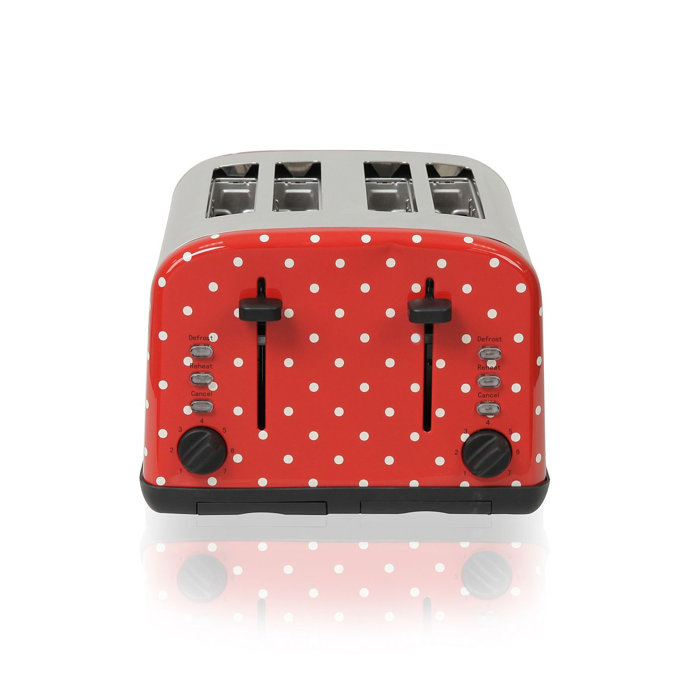 Uncategorized Asda Kitchen Appliances george home 4 slice toaster polka dot toasters asda direct direct