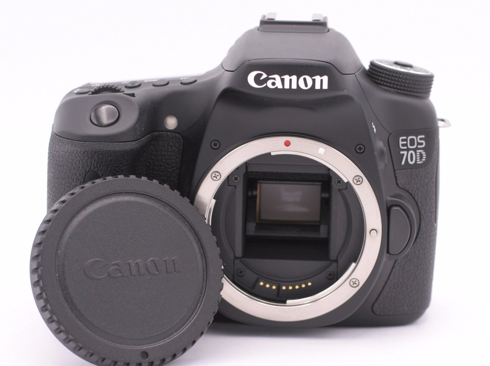 Canon EOS 70D 20.2MP Digital SLR Camera Black (Body Only) Shutter Count  2a62c7528d43