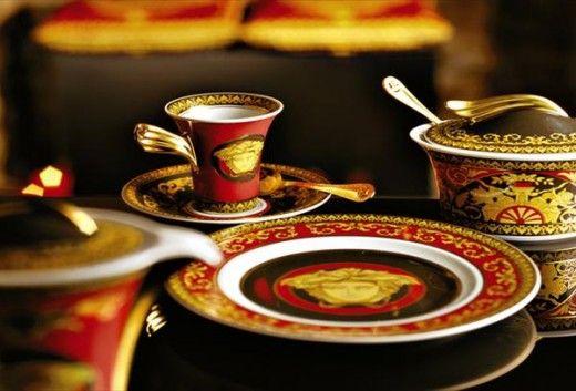 Luxurious Dinnerware Sets By Versace Versace Home Luxury Tableware Dinnerware