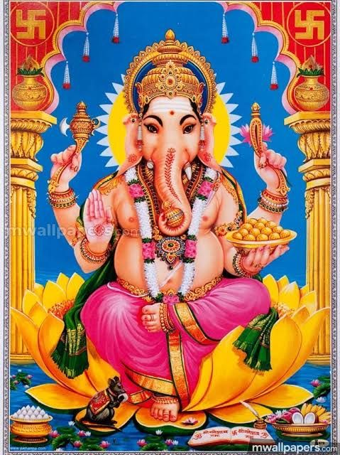 Lord Ganesh Chaturthi 2021 HD Wallpaper Free Download | Bhagawan Ganesh Chaturthi Wallpapers