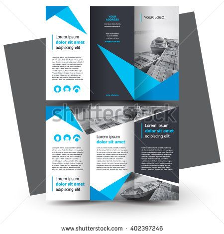 Brochure Design Brochure Template Creative Trifold Trend - Brochures design templates