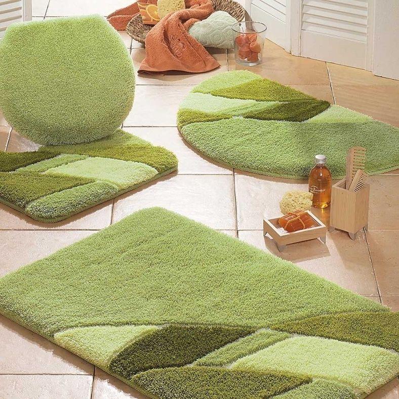 Lime Green Bathroom Rugs, Green Bathroom Rug