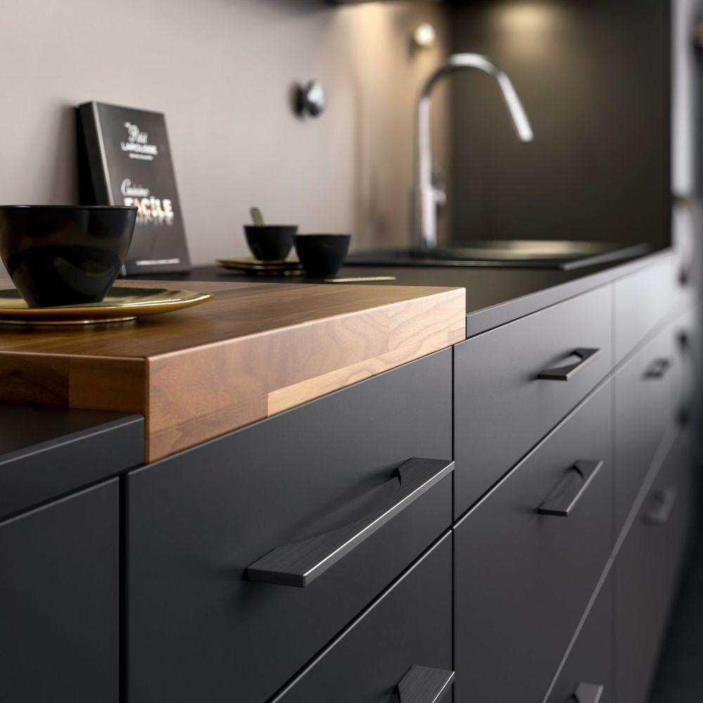 Poignées de cuisine : boutons de meubles design  Poignée meuble