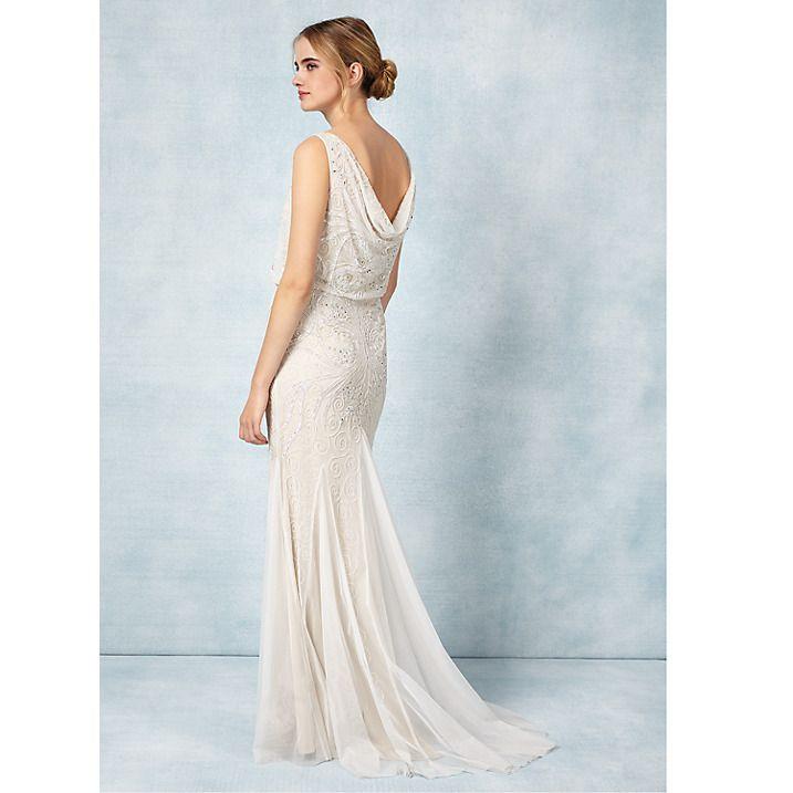 Ellie + Alex - An Art Deco Stoke Newington Wedding | Bridal gowns ...