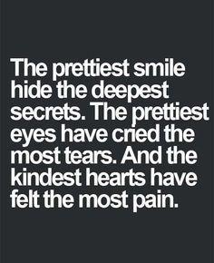 sad inside quotes