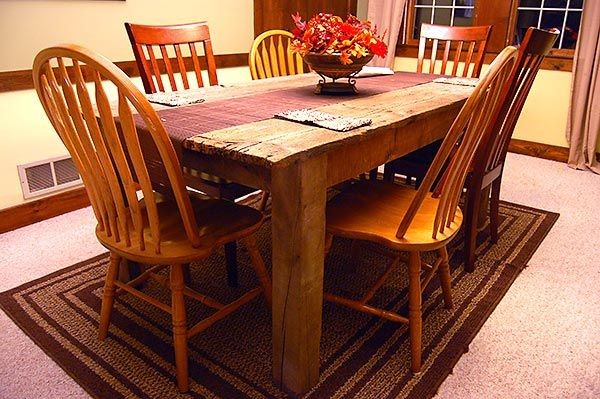 Instructions For A Rustic Dinner Table Furniture