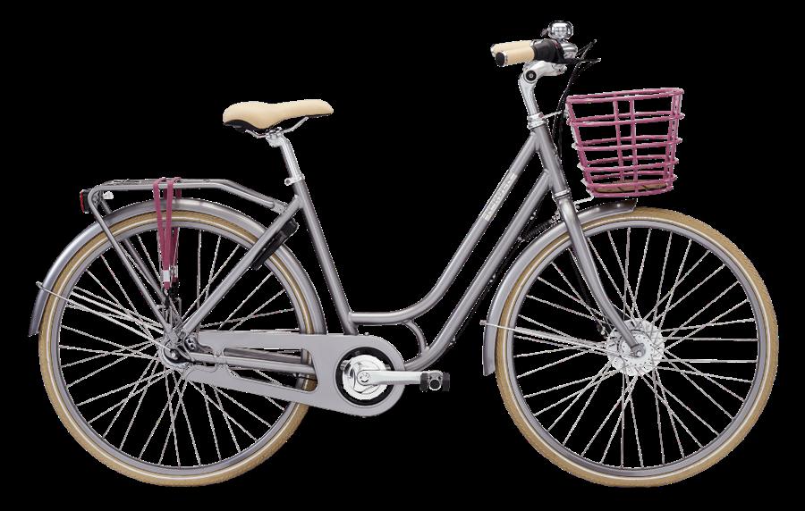 96b21685299 Norden Ellen N7 Askegrå 2017 - Køb den online hos Nordisk cykler ...