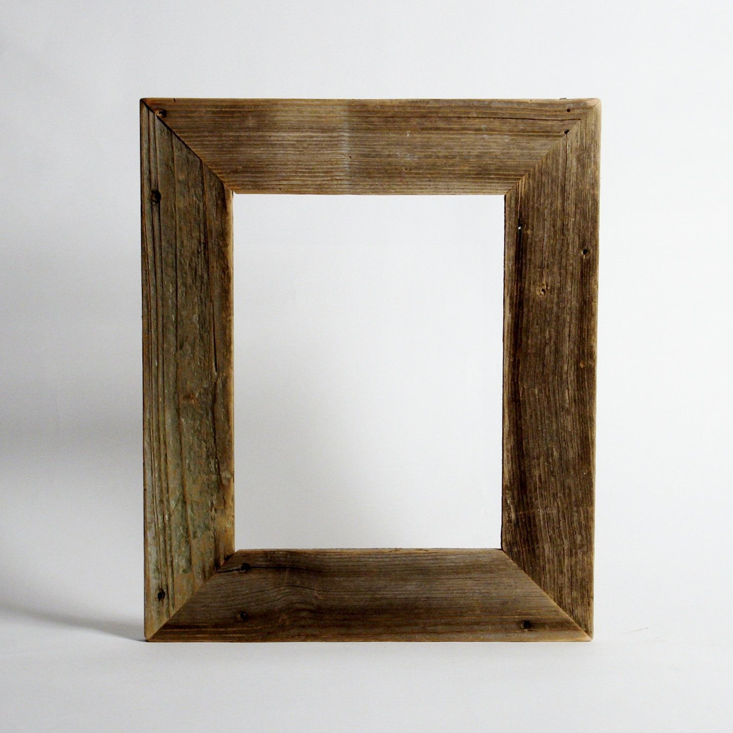Reclaimed Wood Frame Small Size Custom Made To Order
