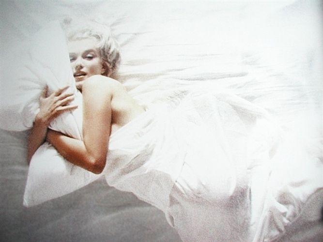 Marilyn Monroe Nude In White Silk Sheet By Douglas Kirkland On