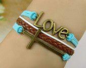 Infinity Bracelet belief and infinity loveBelieve by beatricekara