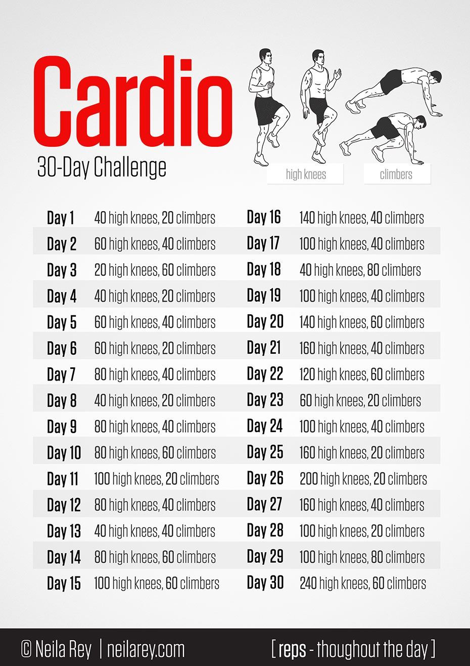 cardio workouts at home at home cardio challenge everyone has a few minutes each 12210