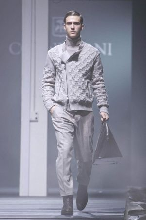 Corneliani Fall Winter Menswear 2013 Milan
