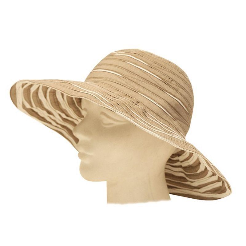 Mechaly Women's Brown Vegan Hat