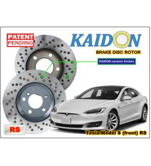 Tesla Model S Brake Disc Rotor Kaidon Front Type Rs Spec Tesla Model S Disc Tesla