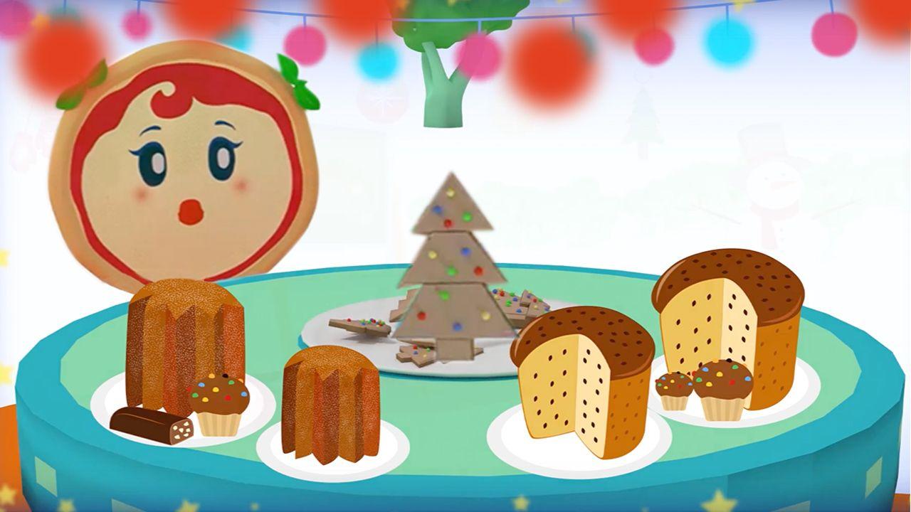 Biscotti Di Natale X Bambini.Cartoni Animati Per Bambini La Canzone Di Natale Di Margherita Ed