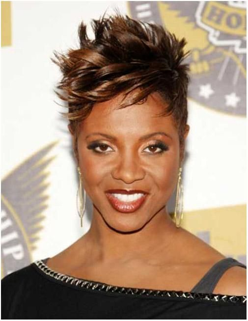 Unique Short Spiky Black Hairstyles Black Hairstyles 2015 Short Hair Pictures Short Black Haircuts Short Hair Styles African American