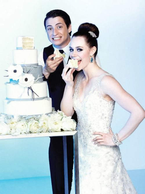 Tessa Virtue and Scott Moir for Today's Bride | Happily Ever After