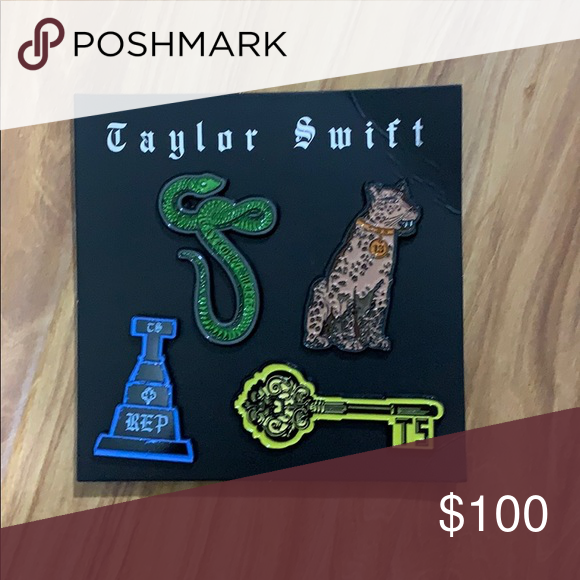 Spotted while shopping on Poshmark: New Taylor swift pin ...