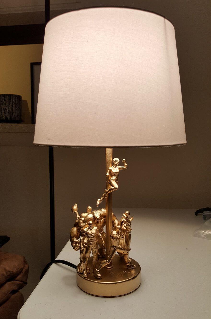 lampe selber bauen wie die profis lampen. Black Bedroom Furniture Sets. Home Design Ideas