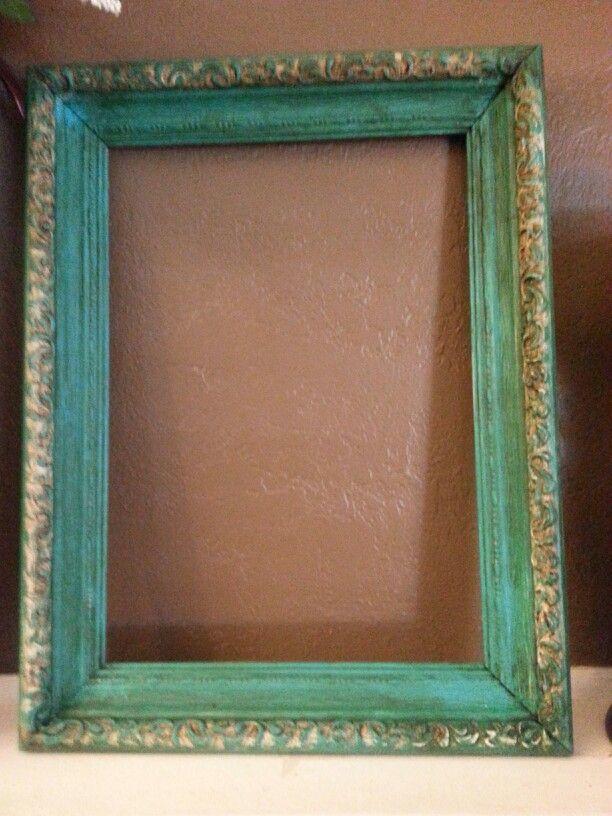 Chalk paint frame with raised detail | Chalk paint | Pinterest ...