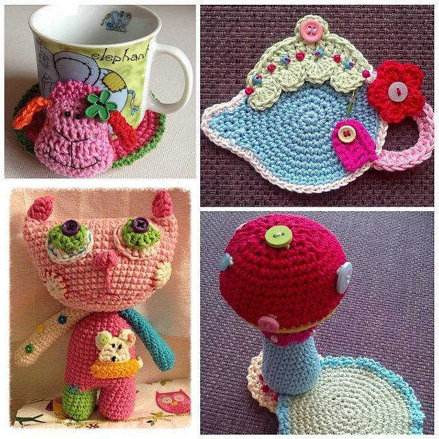Magnífico Patrón De Aplicación De Crochet Libre De Pato Fotos ...