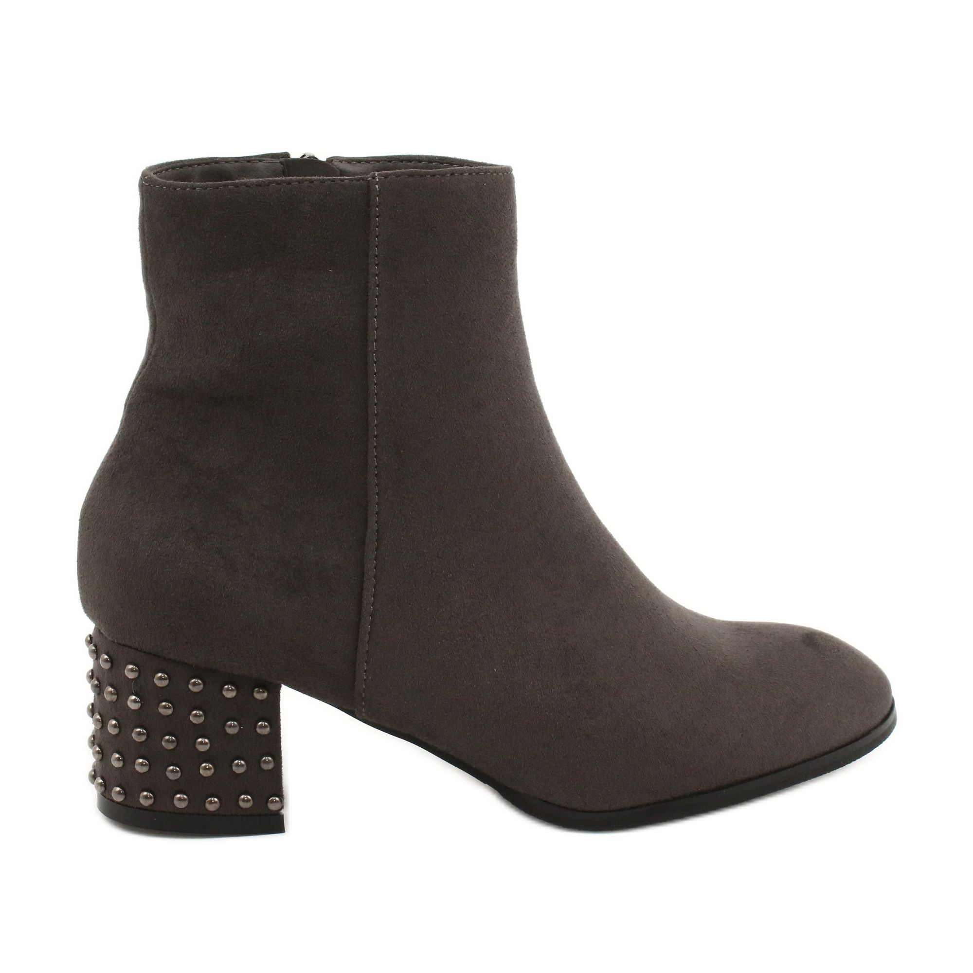 Botki Na Obcasie Filippo 540 Szare Boots Shoes Women Heels Womens Boots
