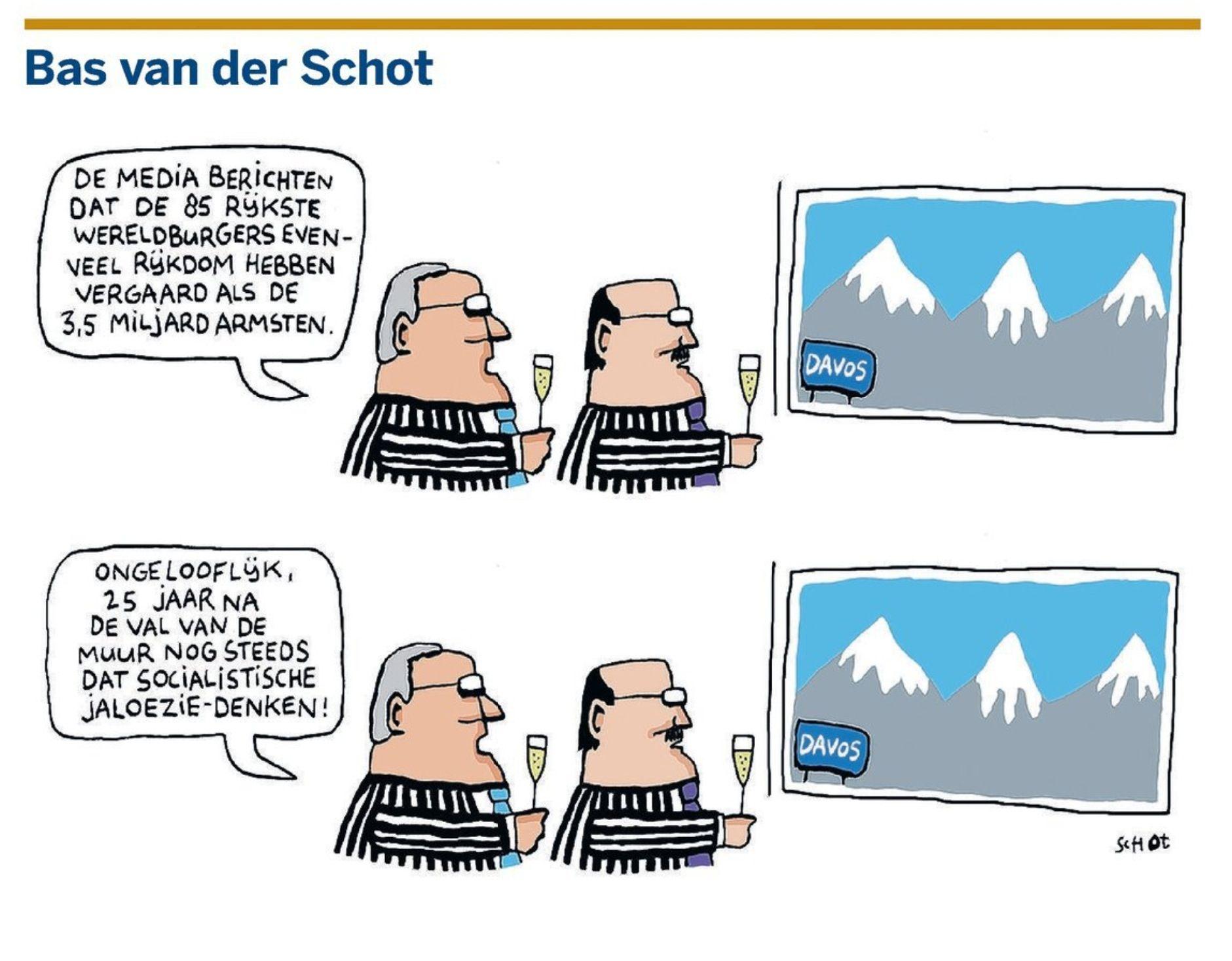 Cartoon verdeling welvaart | Economie / Economics ...