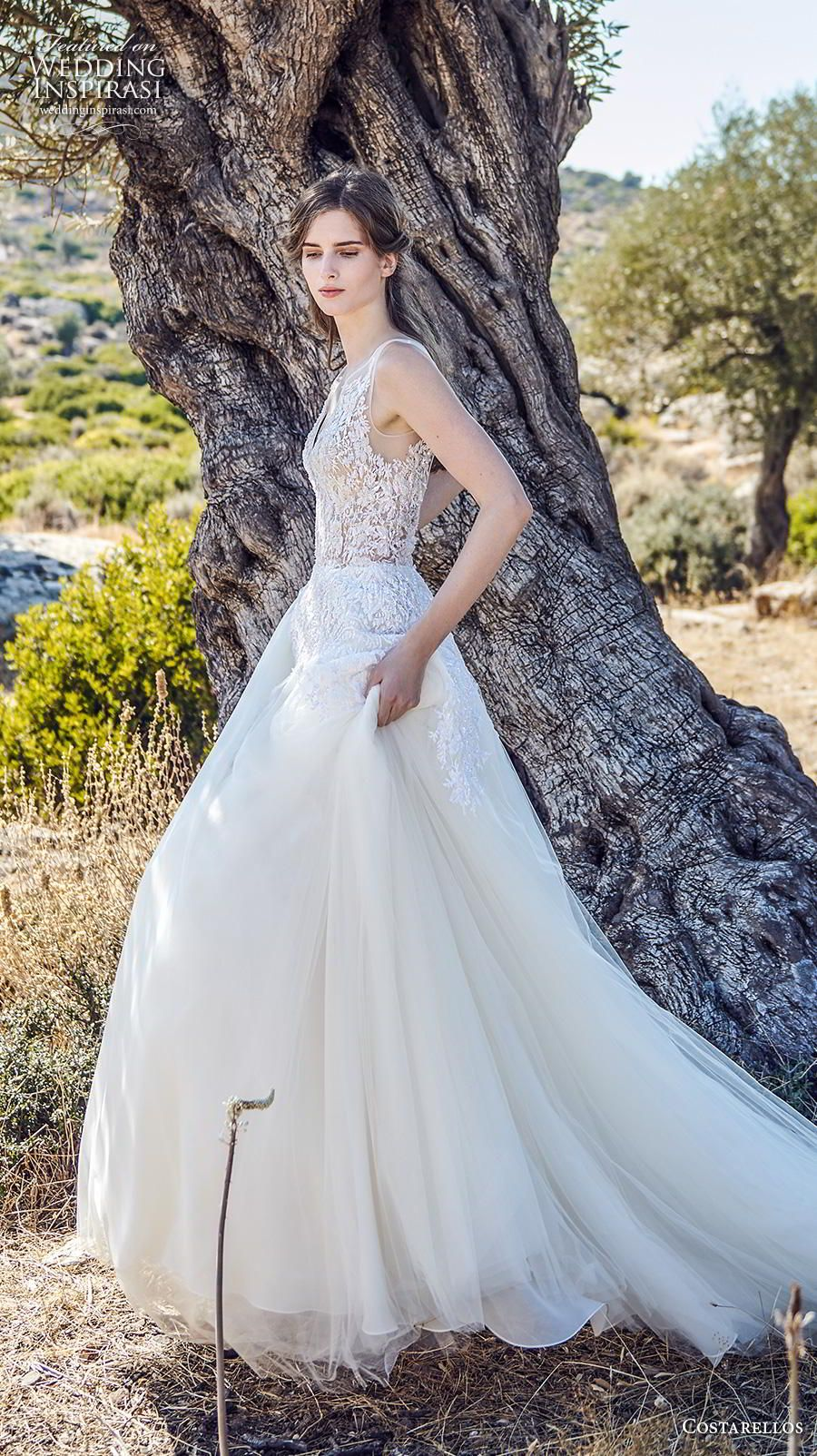 Costarellos Fall 2020 Wedding Dresses in 2020 Wedding