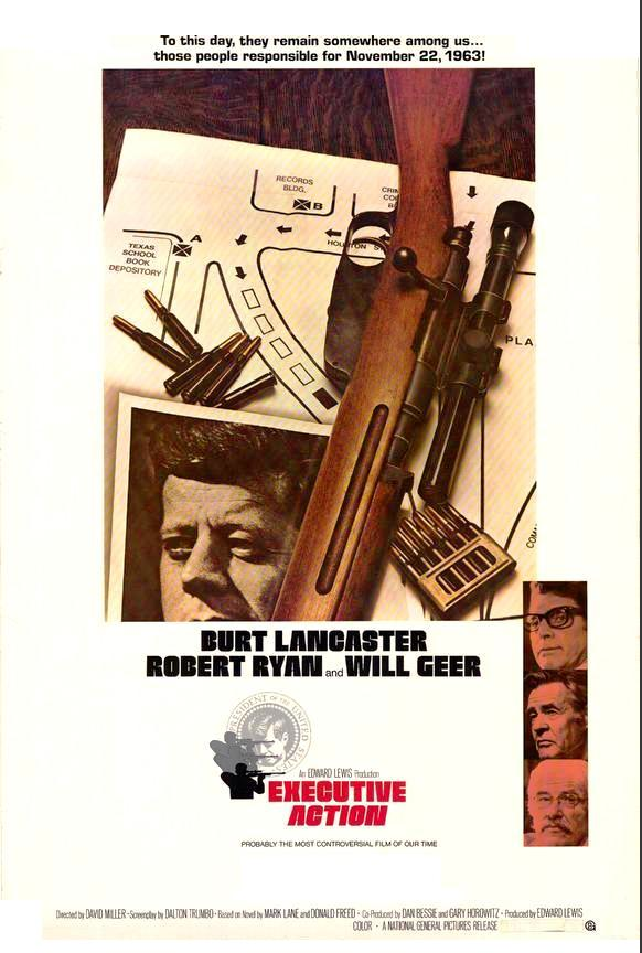 Executive Action: JFK Assassination written by Dalton Trumbo