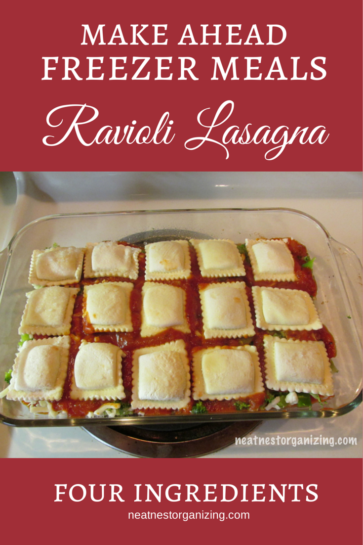 25 freezer meals for busy weeknights ravioli lasagna ground meat