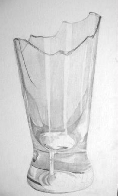 How to draw realistic broken glass. | Shading | Pinterest ...