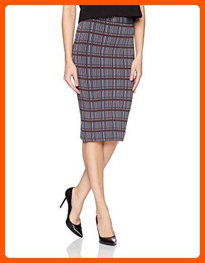oodji Ultra Womens Checkered Midi Skirt