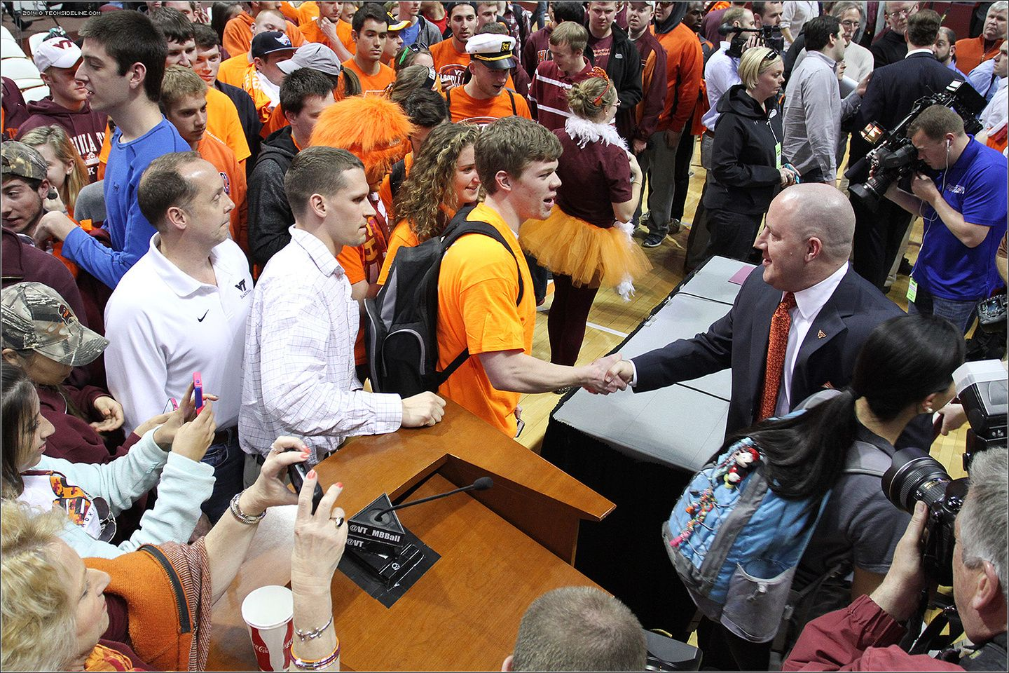 2014.03.24. Press Conference introducing Buzz Williams as