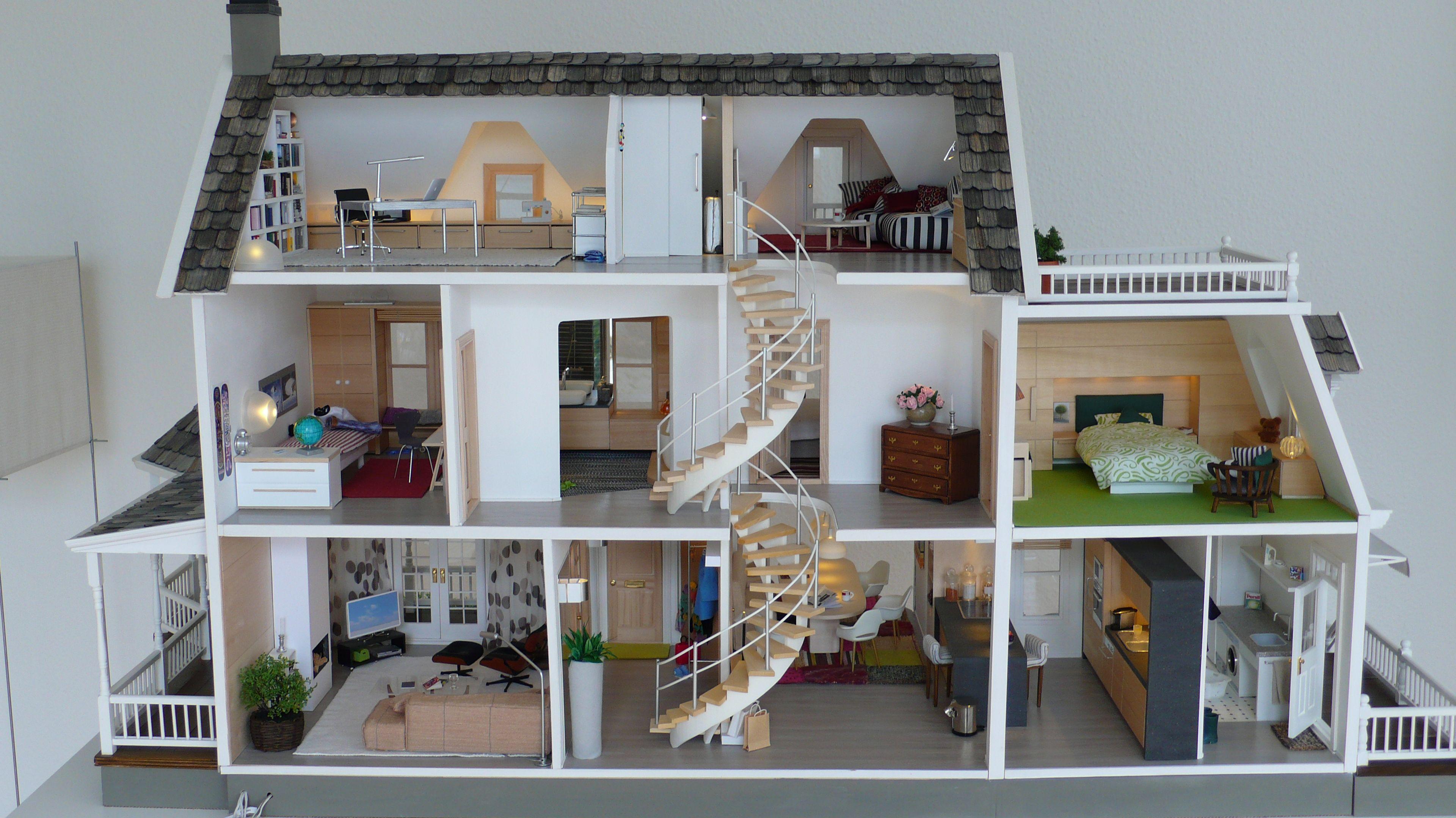 full view of inside marionrussek glenwood dollhouse diary of construction fantastic back. Black Bedroom Furniture Sets. Home Design Ideas