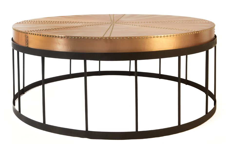 Best Round Copper Top Coffee Tables Hammered Copper Coffee 400 x 300