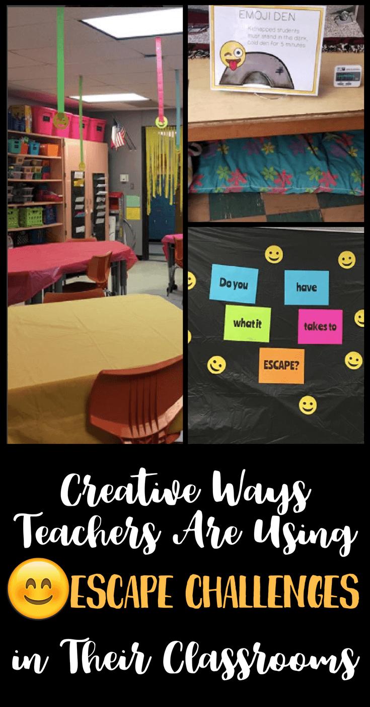 the classroom escape game creative ways teachers are using them rh pinterest com