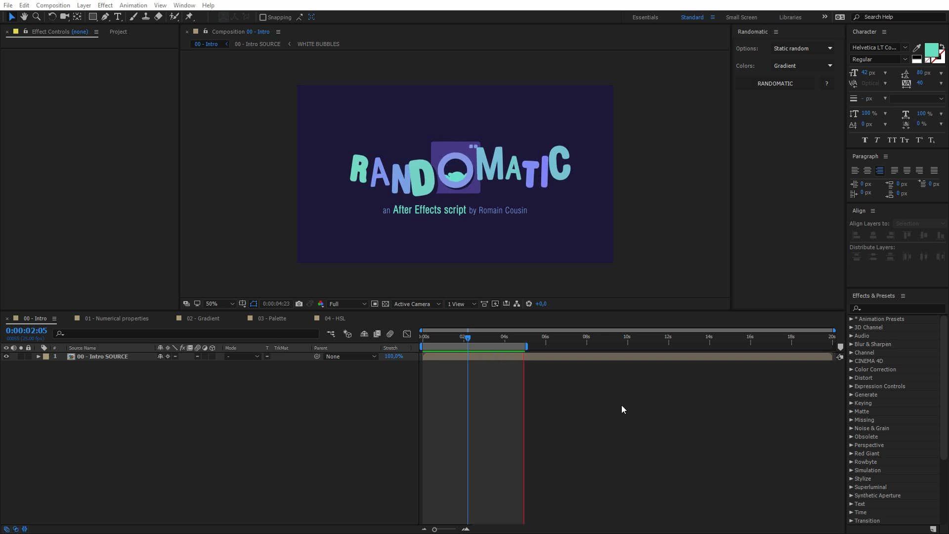 randomatic tutorial v1 0 on vimeo ae plugin pinterest