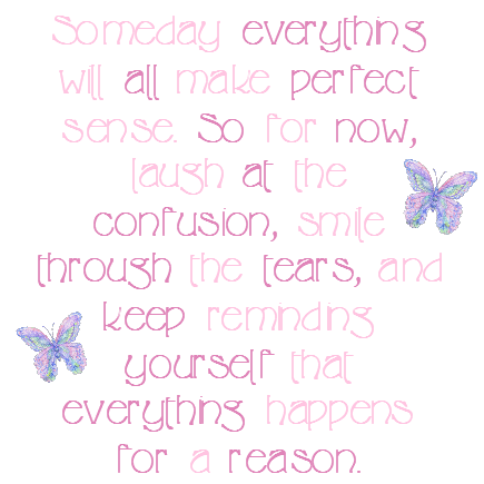 for a reason...