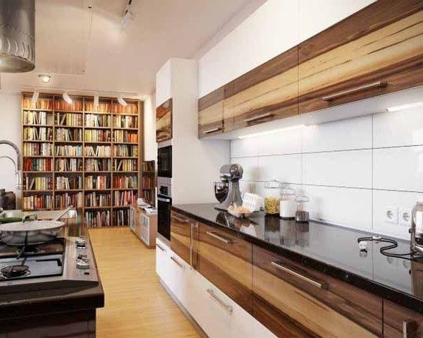 Interior mit Weiss- Holz-dekoration (5) | Interieur Design ...