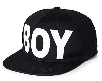 """BOY LONDON"" Cap  www.viewonfashion.com"