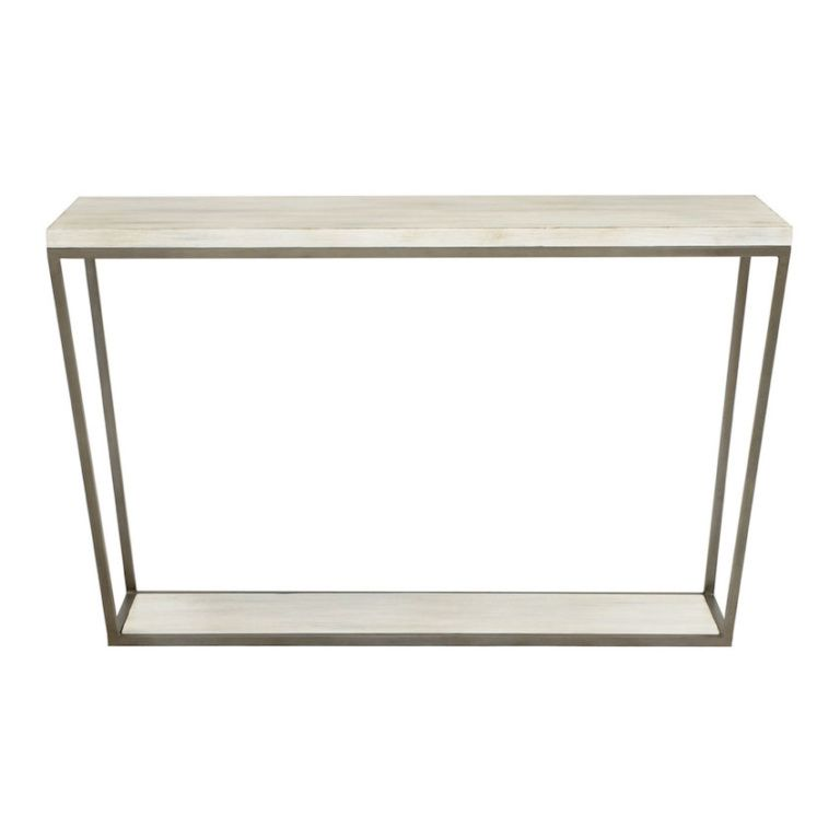 Redford House Furniture Morris Console Table Black Furniture
